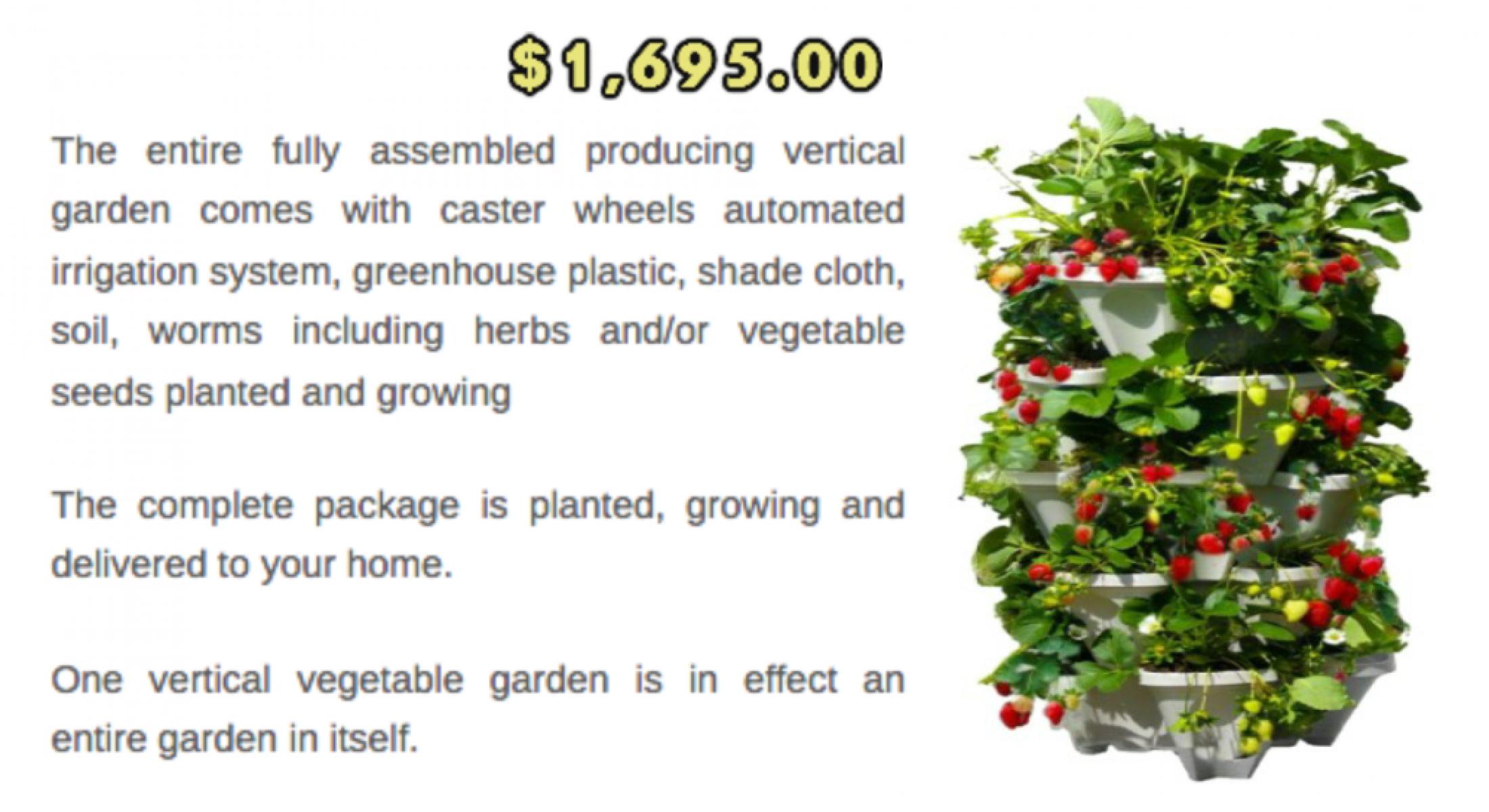 Las Vegas Vertical Gardens U2013 How To Grow An Abundance Of ...